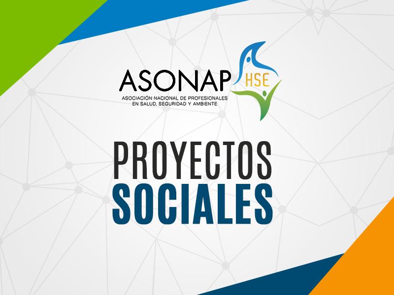 Proyectos sociales 2015