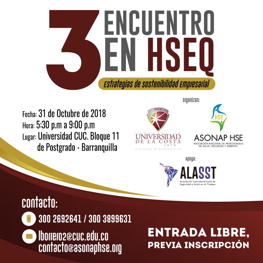 TERCER ENCUENTRO EN HSEQ - BARRANQUILLA