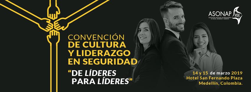 Convención de Cultura y Liderazgo en Seguridad