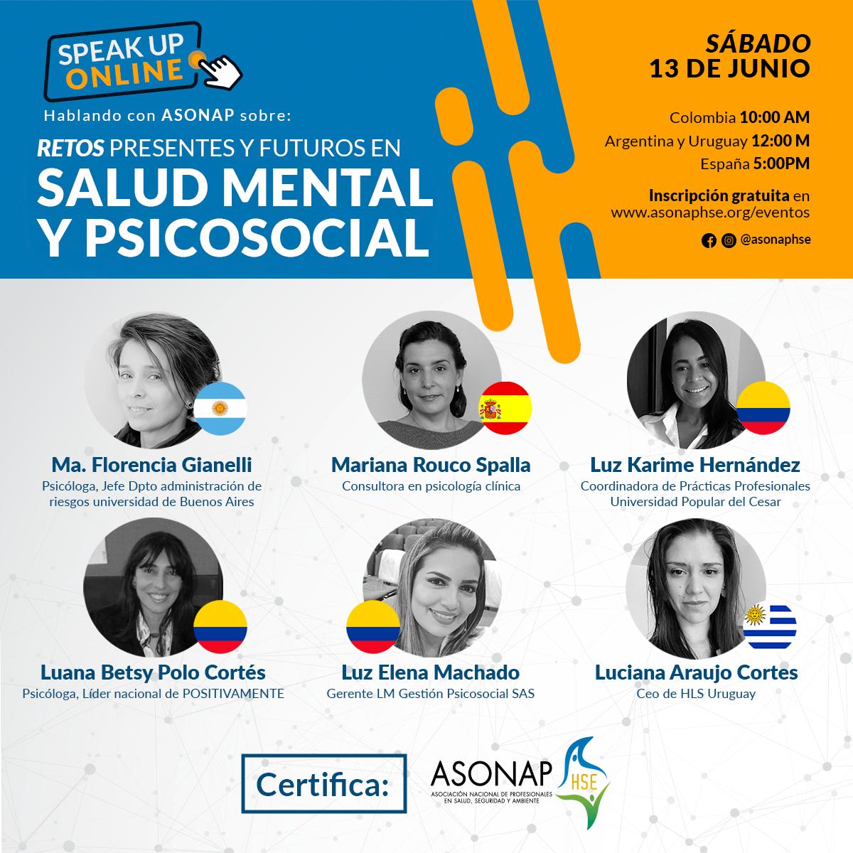 Retos presentes y futuros en salud mental y psicosocial