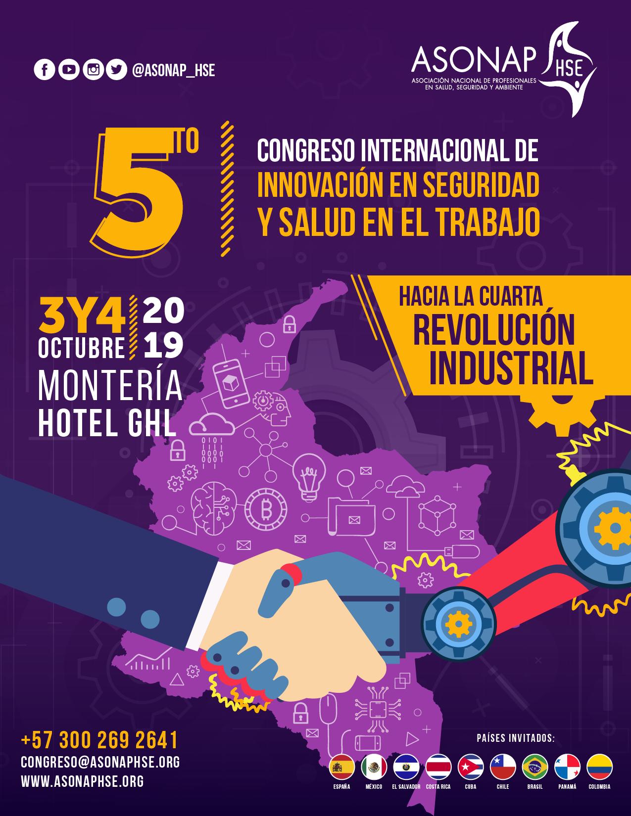 5° Congreso Internacional de Innovación en Seguridad y Salud en el Trabajo